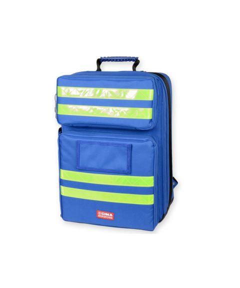 Silos ryggsekk for medisinsk utstyr, blå