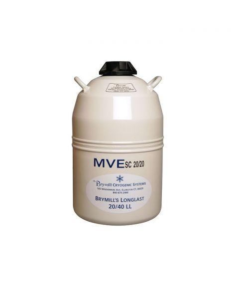 Brymill oppbevaringstank for flytende nitrogen.