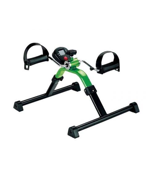 digital pedaltrener for armer og ben, motstandsstyrke kan justeres. grønn