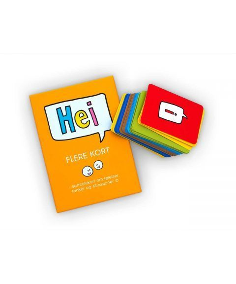 Flere kort, suppleringskort til Hei-spillet