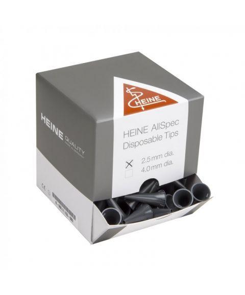 Heine AllSpec øretuber til otoskop 2,5mm (250 stk)