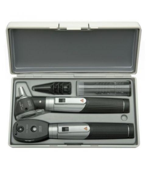 Heine mini 3000 otoskop + oftalmoskop (fiber, halogen, 3X)