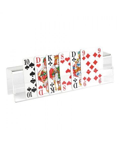 Kortholder til kortspill