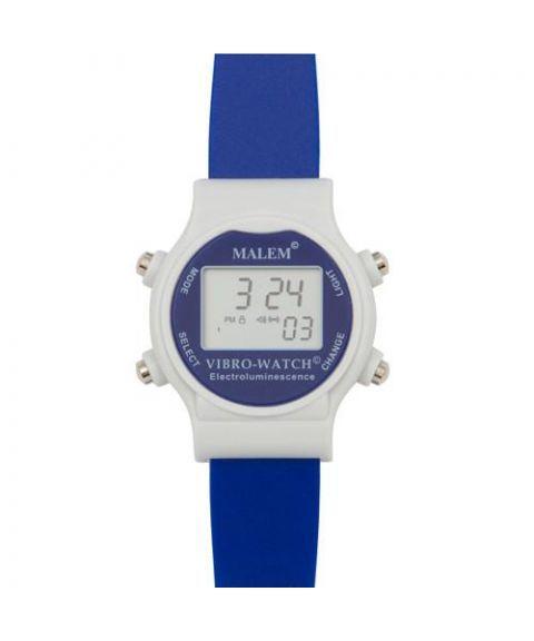 Malem vibrasjonsklokke MO22, blå
