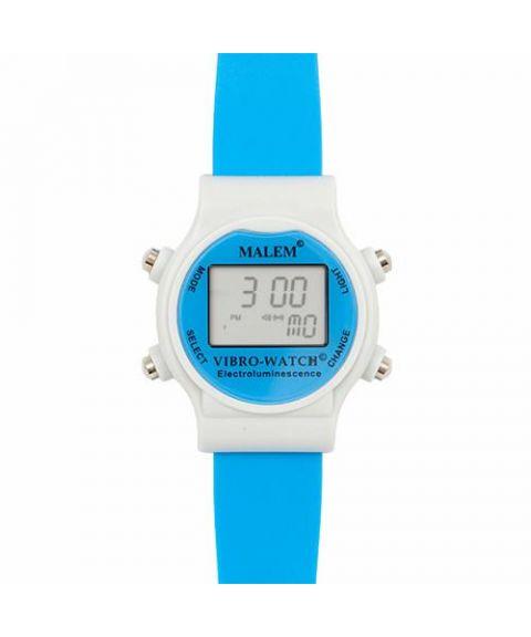 Malem vibrasjonsklokke MO22, lys blå