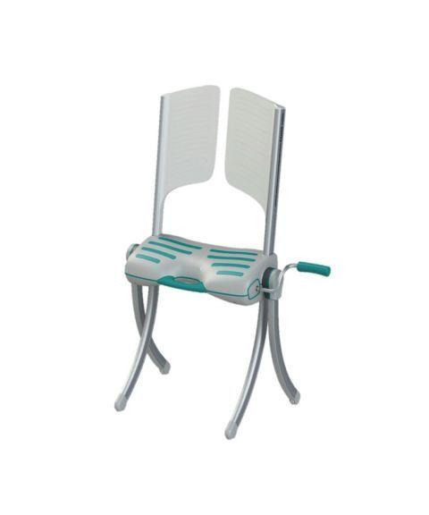 Raizer M - Løftestol, inkludert hodestøtte, bæreveske og trekk til sete.