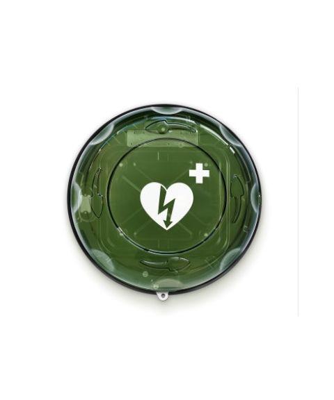Rotaid Plus skap til hjertestarter, med alarm (uten varme)
