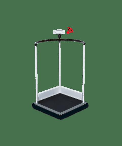 Seca 645 - multifunksjonell vekt med støttehåndtak
