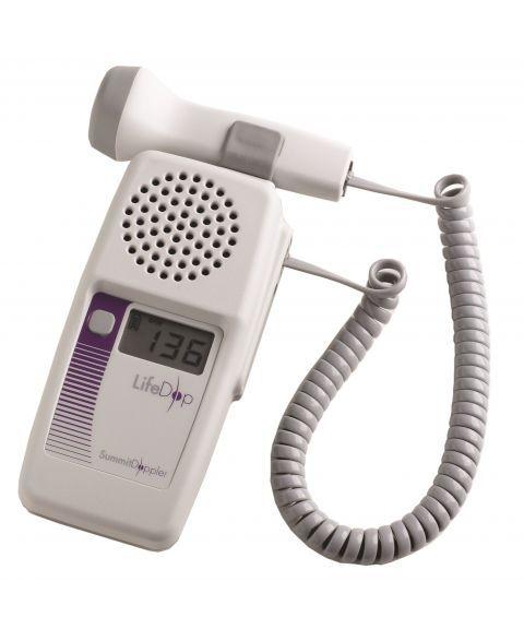 LifeDop 250 føtal doppler med 2MHz vanntett probe