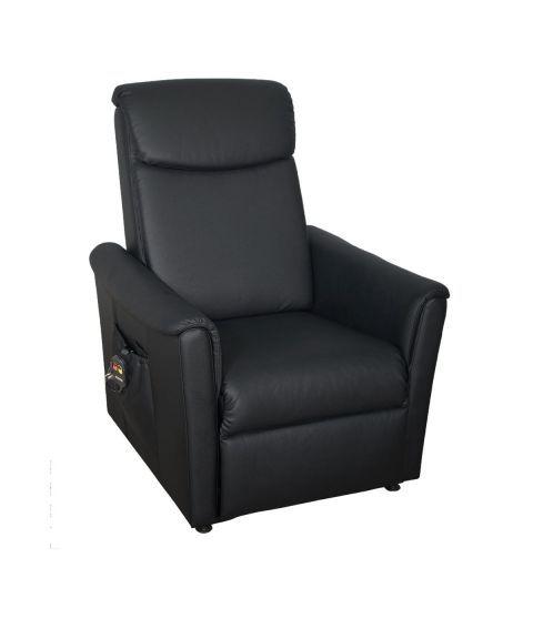 Topro Modena Løfte- og hvilestol, kunstskinn (svart)