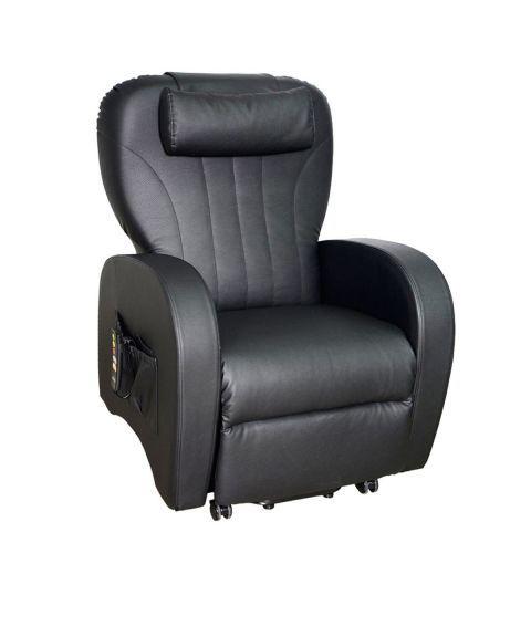 Topro Verona Løfte- og hvilestol, kunstskinn (svart)